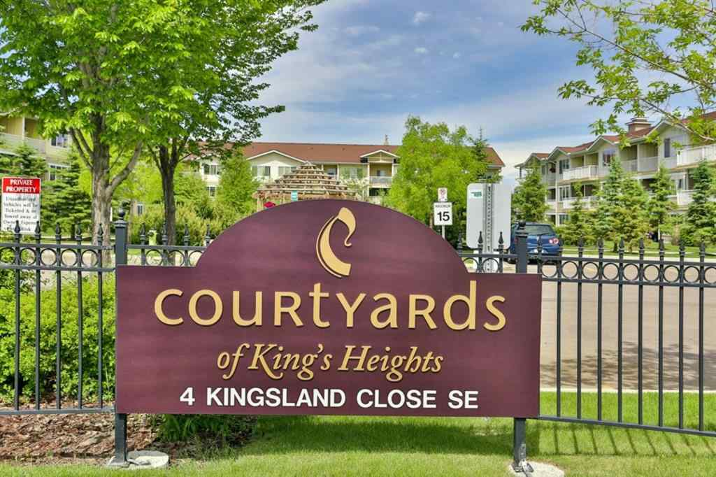 MLS® #A1017360 - Unit #1103 4 KINGSLAND Close SE in Kings Heights Airdrie, Residential Open Houses