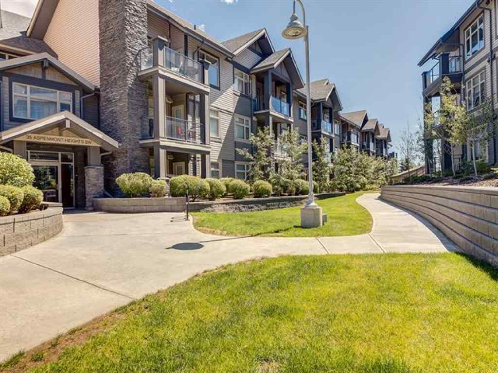 MLS® # A1020121 - Unit #115 25 ASPENMONT Heights SW in Aspen Woods Calgary, Residential Open Houses