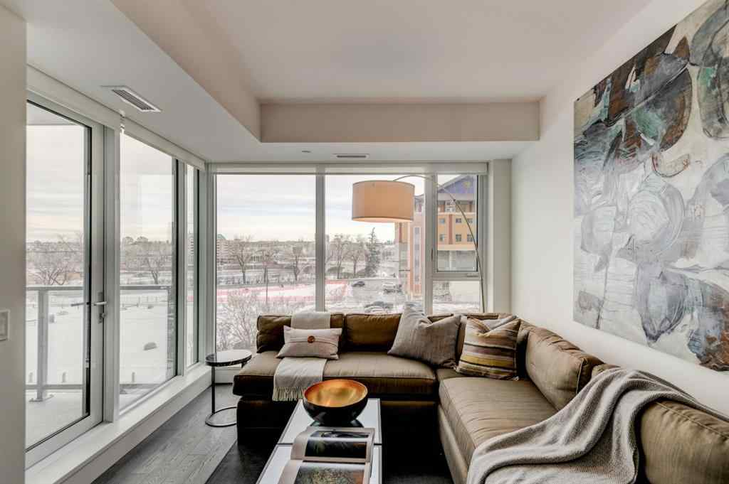 MLS® # A1027532 - Unit #407 1025 5 Avenue  in Downtown West End Calgary, Residential Open Houses