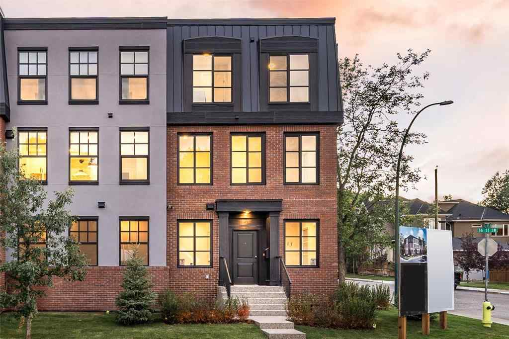 MLS® # A1027795 - Unit #4 4303 16 Street SW in Altadore Calgary, Residential Open Houses