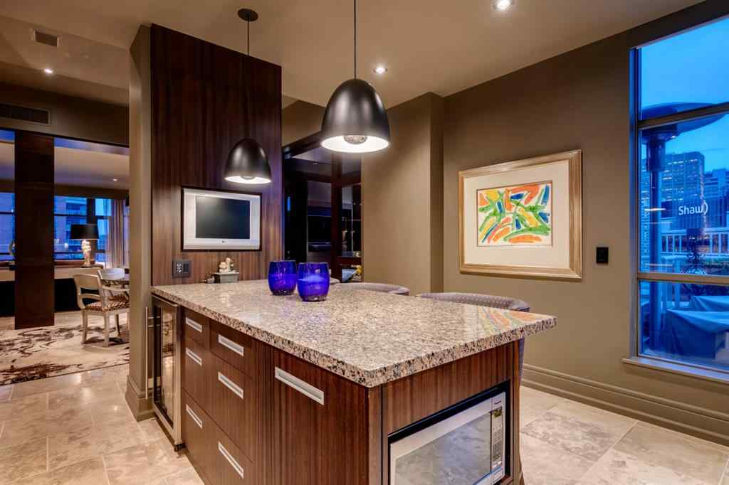 MLS® #A1028113 - Unit #1301 690 PRINCETON Way SW in Eau Claire Calgary, Residential Open Houses