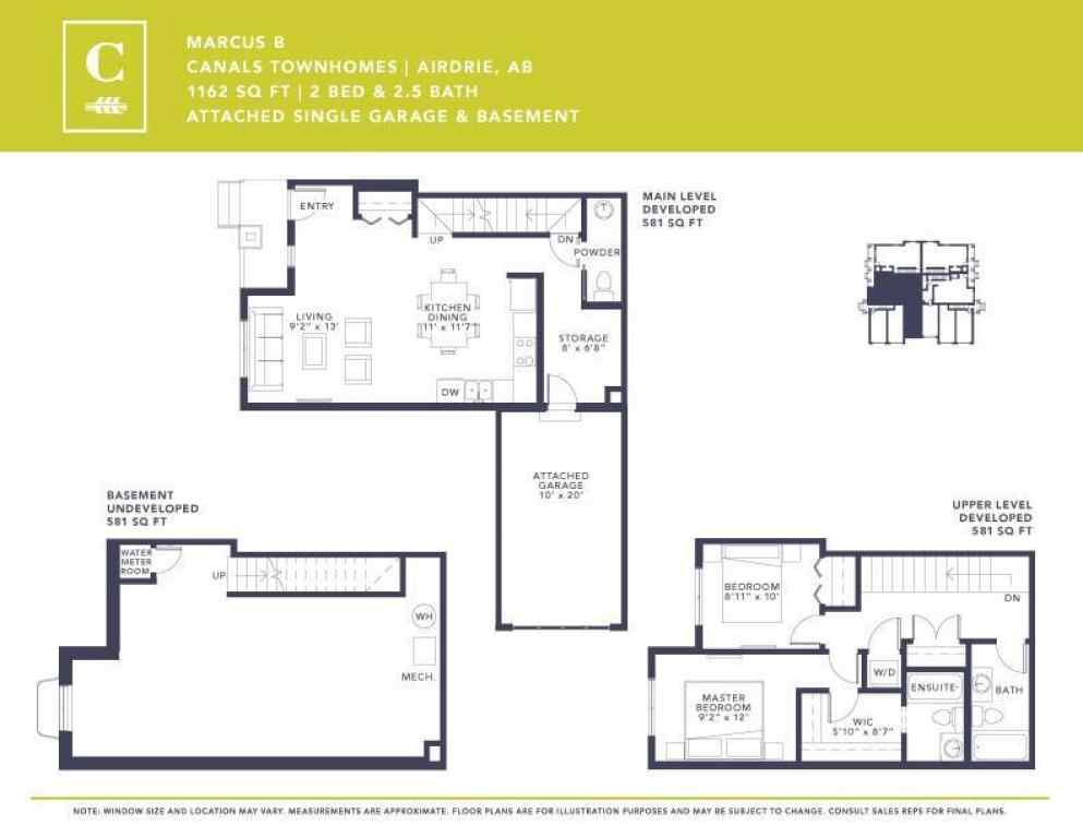 MLS® #A1028501 - 537 Canals Crossing SW in Canals Airdrie, Residential Open Houses