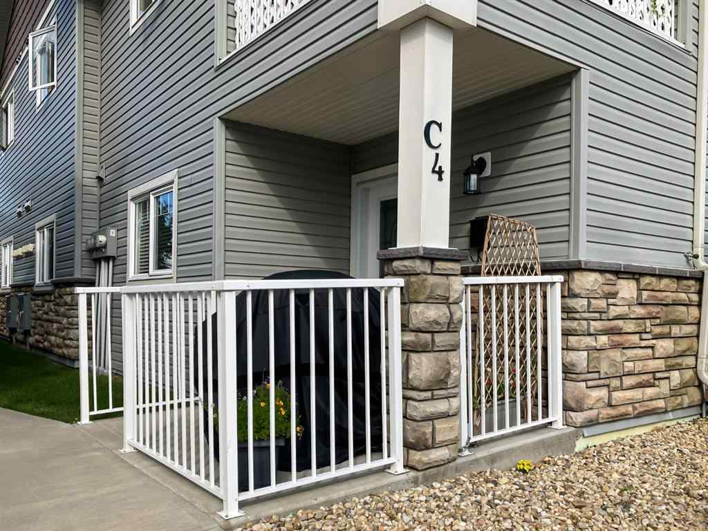 MLS® #A1028606 - Unit #C4 99 Pioneer Way  in Cottonwood Estates Blackfalds, Residential Open Houses