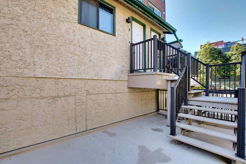 MLS® # A1028832 - Unit #31 2400 15 Street SW in Bankview Calgary, Residential Open Houses