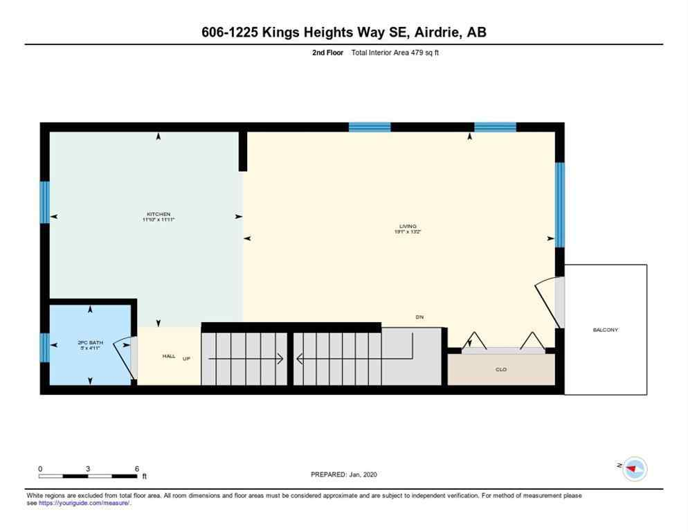 MLS® #A1030258 - Unit #606 1225 KINGS HEIGHTS Way SE in Kings Heights Airdrie, Residential Open Houses