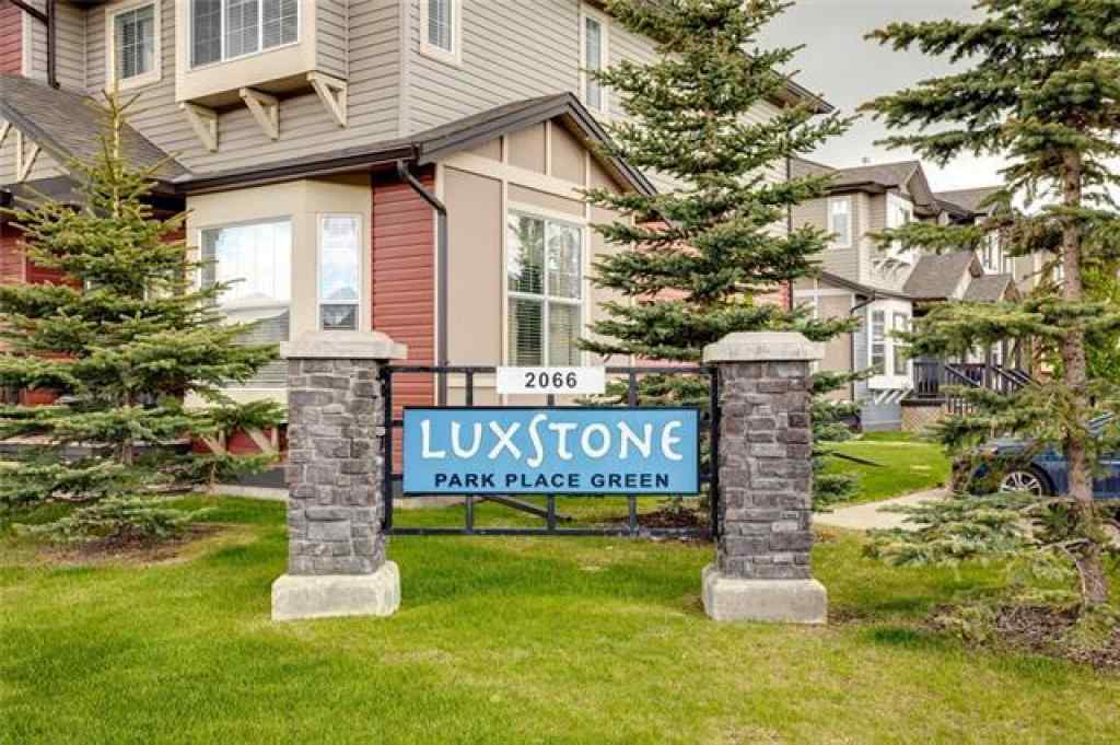 MLS® # A1035513 - Unit #903 2066 LUXSTONE  Boulevard SW in Luxstone Airdrie, Residential Open Houses