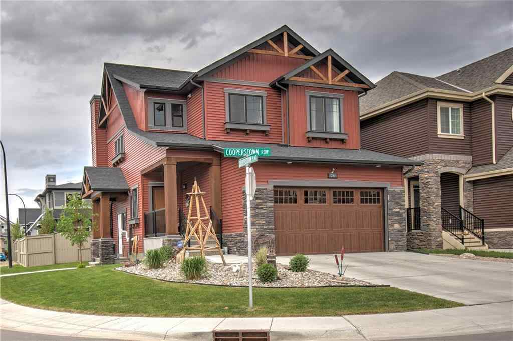 MLS® # A1036079 - 26 COOPERSTOWN Row SW in Coopers Crossing Airdrie, Residential Open Houses