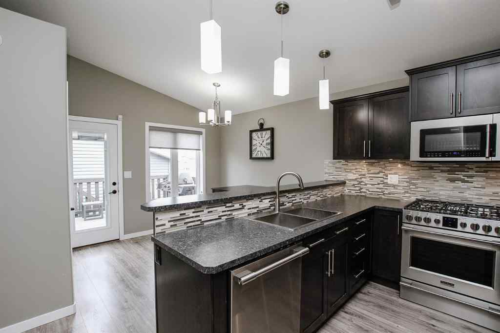 MLS® # A1037995 - 14 Valmont Street  in Aspen Lakes West Blackfalds, Residential Open Houses