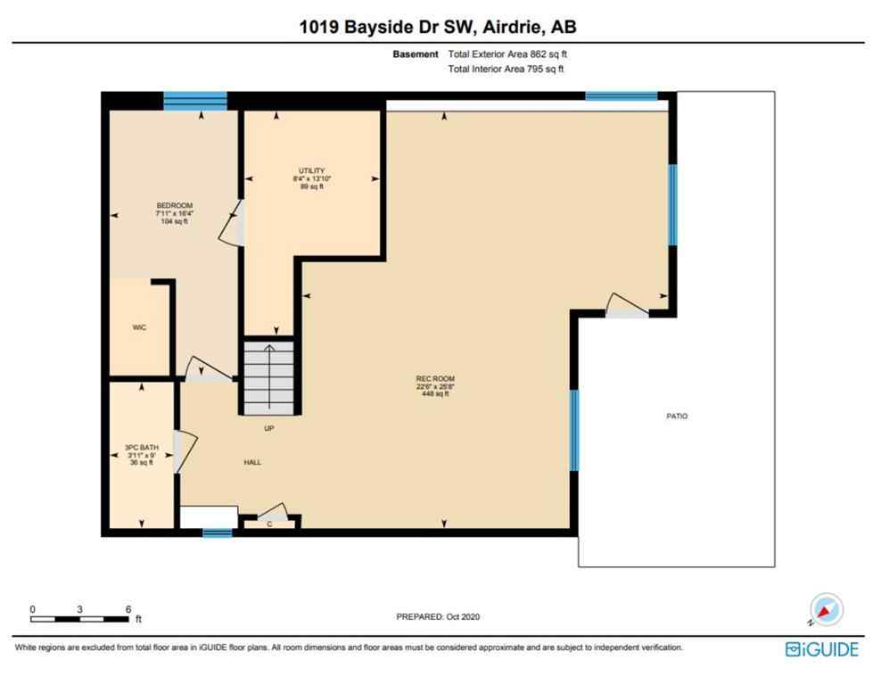 MLS® # A1039318 - 1019 Bayside Drive SW in Bayside Airdrie, Residential Open Houses
