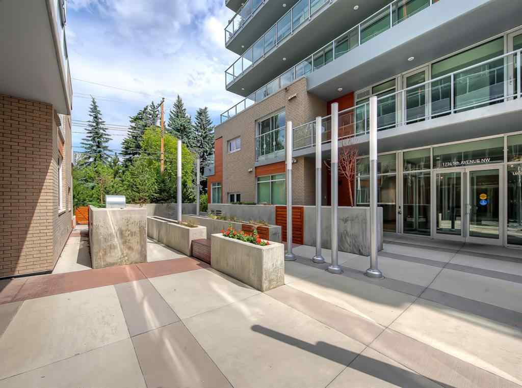 MLS® # A1039898 - Unit #1109 1234 5 Avenue NW in Hillhurst Calgary, Residential Open Houses