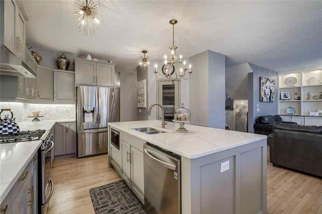 MLS® # A1041717 - 207 Cooperstown  Lane SW in Coopers Crossing Airdrie, Residential Open Houses