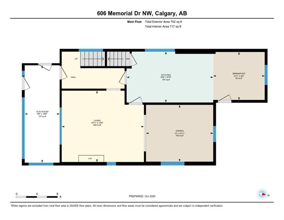 MLS® #A1042793 - 606 Memorial Drive NW in Sunnyside Calgary, Residential Open Houses