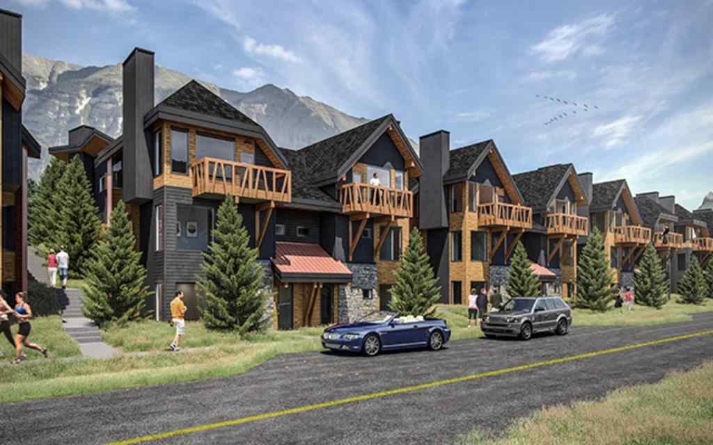 MLS® # A1043208 - Unit #102A 1200 Three Sisters  Parkway  in Three Sisters Canmore, Residential Open Houses