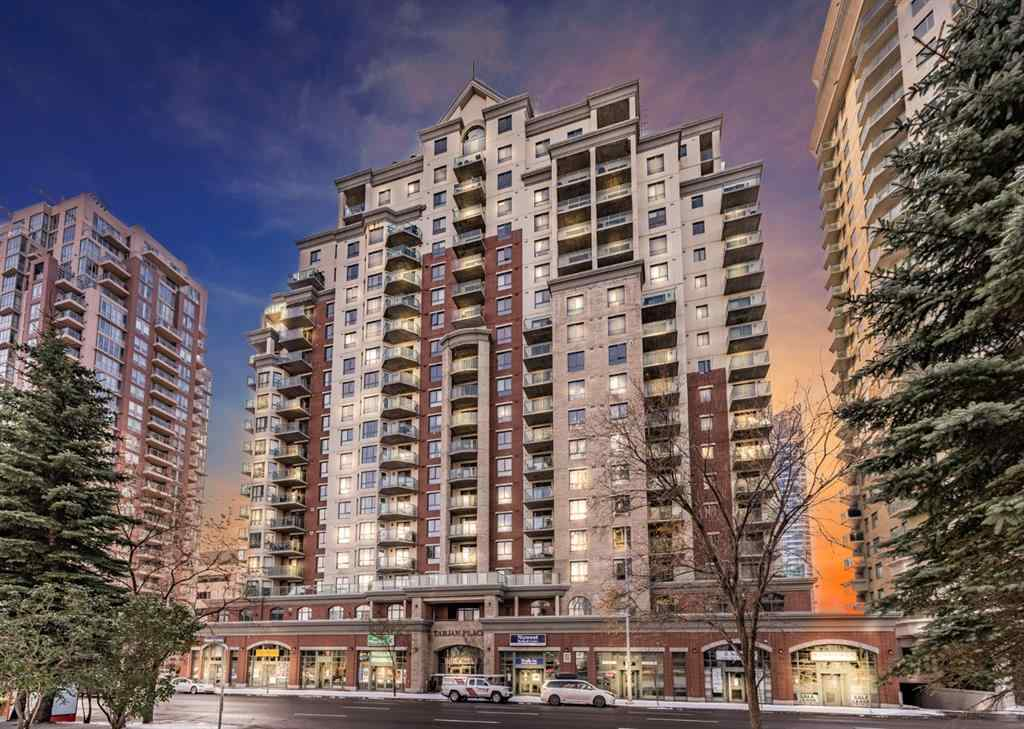 MLS® # A1043360 - Unit #1208 1111 6 Avenue SW in Downtown West End Calgary, Residential Open Houses