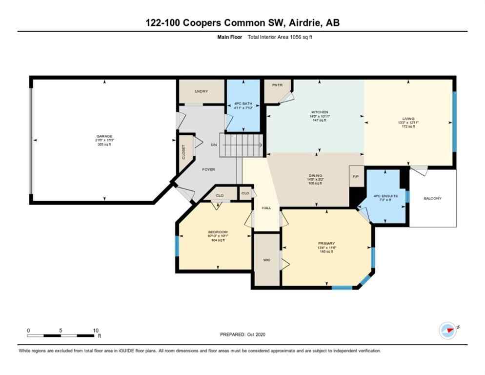 MLS® #A1043563 - Unit #122 100 Coopers  Common SW in Coopers Crossing Airdrie, Residential Open Houses
