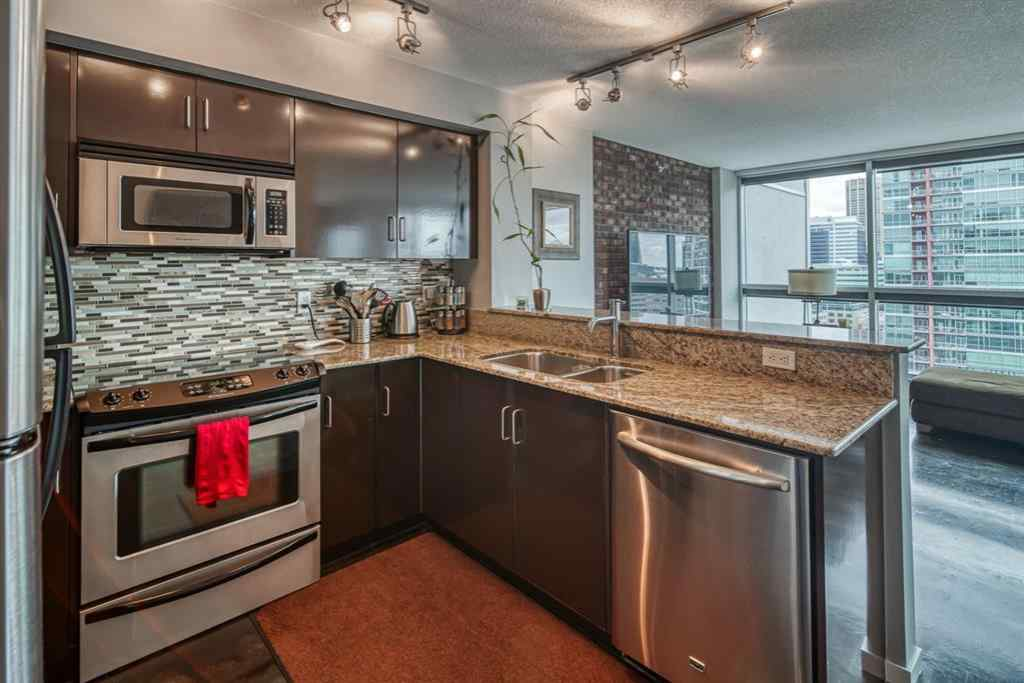 MLS® # A1044689 - Unit #1702 188 15 Avenue SW in Beltline Calgary, Residential Open Houses