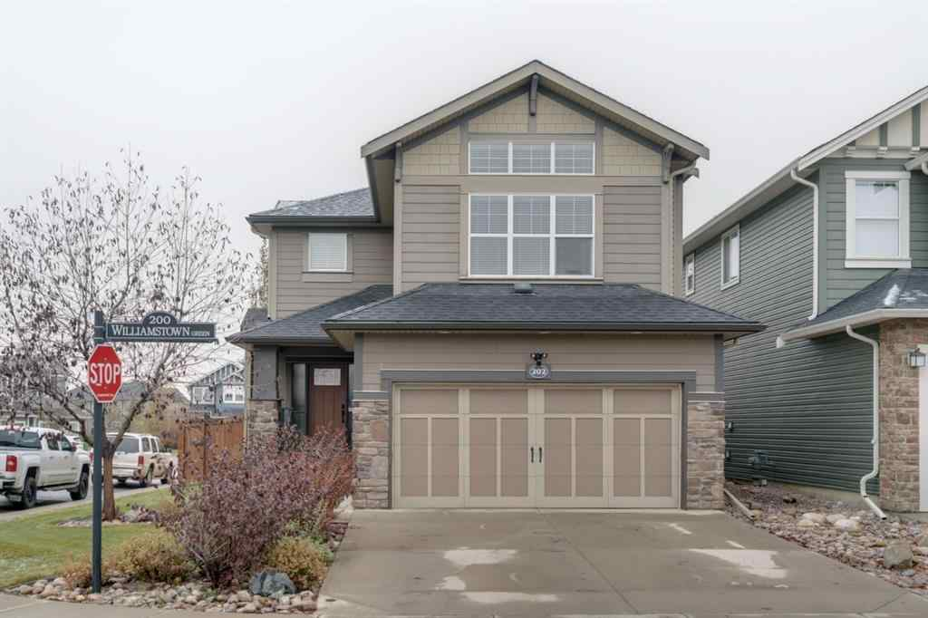 MLS® # A1044993 - 202 Williamstown Green NW in Williamstown Airdrie, Residential Open Houses