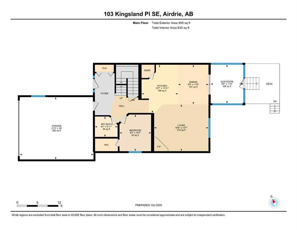 MLS® #A1045633 - 103 Kingsland  Place  in Kings Heights Airdrie, Residential Open Houses