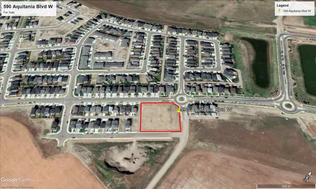 MLS® #A1045940 - 590 Aquitania Boulevard W in Garry Station Lethbridge, Land Open Houses