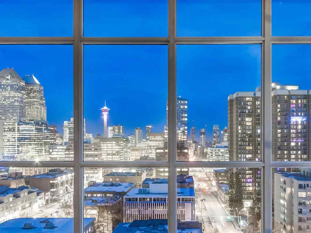 MLS® # A1047646 - Unit #1401 788 12 Avenue SW in Beltline Calgary, Residential Open Houses