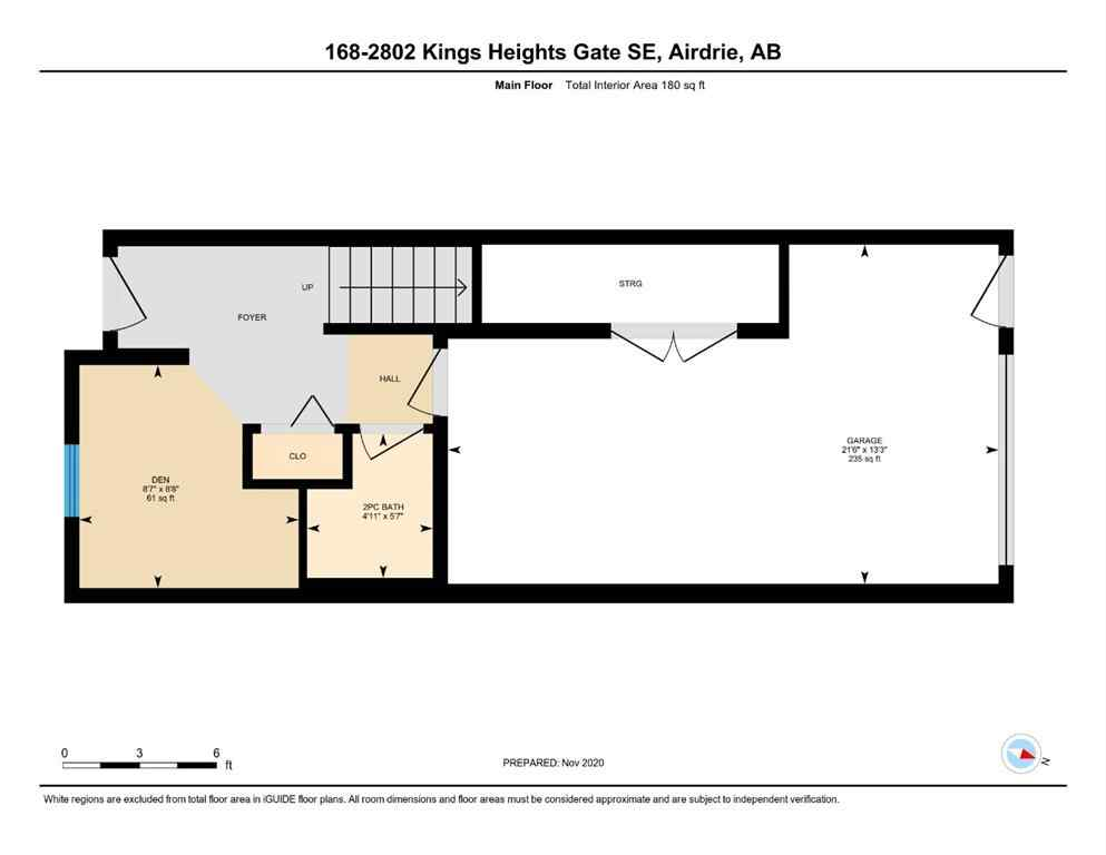 MLS® # A1047970 - Unit #168 2802 Kings Heights Gate SE in Kings Heights Airdrie, Residential Open Houses