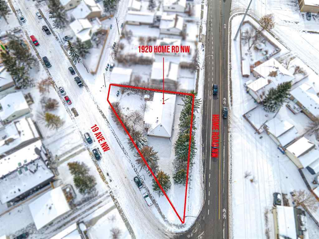 MLS® # A1048338 - 1920 Home Road NW in Montgomery Calgary, Land Open Houses