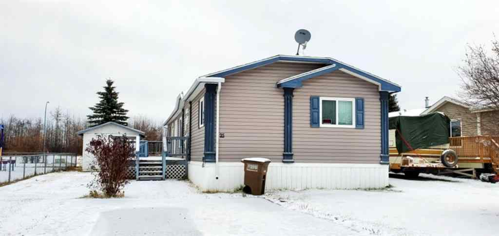 MLS® #A1048513 - #25, 2501 41 Avenue   in Athabasca Town Athabasca, Mobile Open Houses