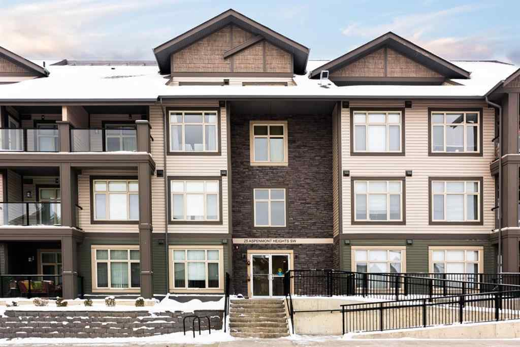 MLS® # A1048749 - Unit #310 25 ASPENMONT Heights SW in Aspen Woods Calgary, Residential Open Houses