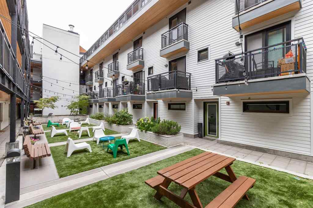 MLS® #A1049575 - Unit #133 1719 9A Street SW in Beltline Calgary, Residential Open Houses