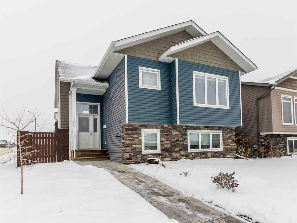 MLS® # A1049752 - 100 Pioneer Way  in Cottonwood Estates Blackfalds, Residential Open Houses