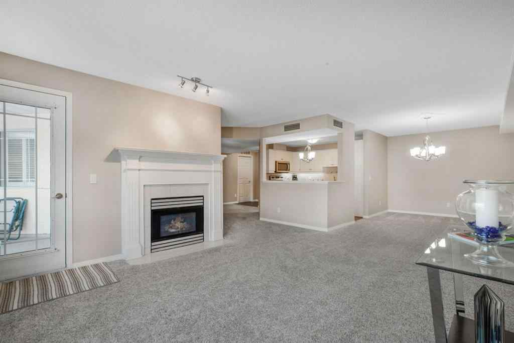 MLS® # A1050342 - Unit #319 9449 19 Street SW in Palliser Calgary, Residential Open Houses