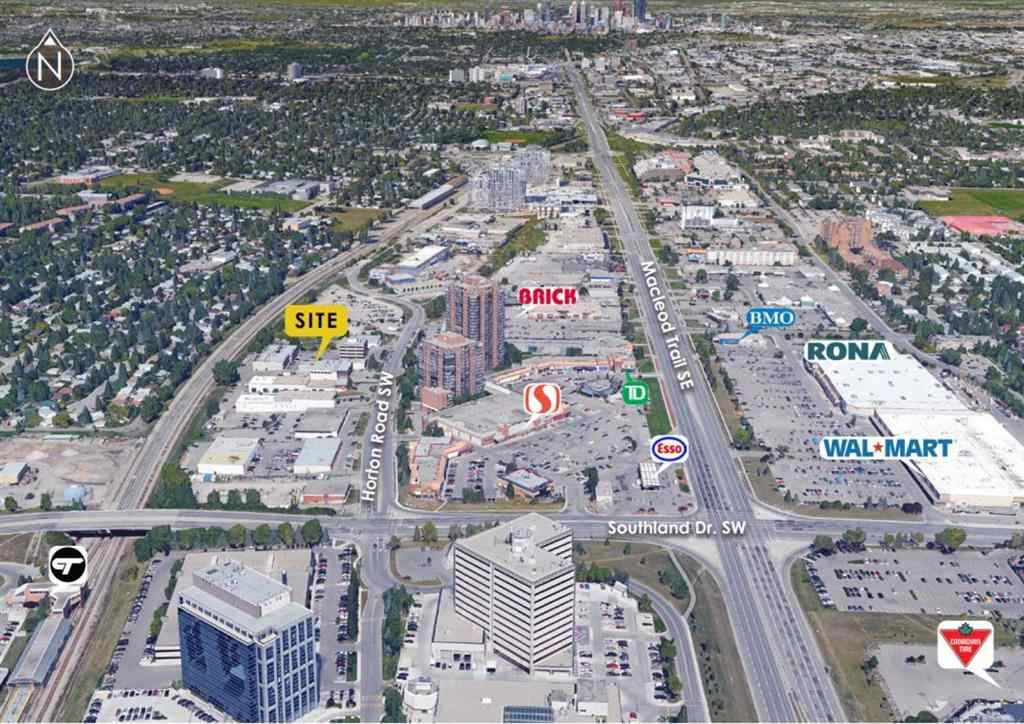 MLS® # A1050489 - Unit #A100 & A110 9705 Horton Road SW in Haysboro Calgary, Commercial Open Houses