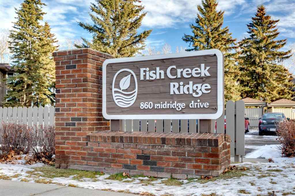 MLS® # A1053369 - Unit #412 860 Midridge Drive SE in Midnapore Calgary, Residential Open Houses
