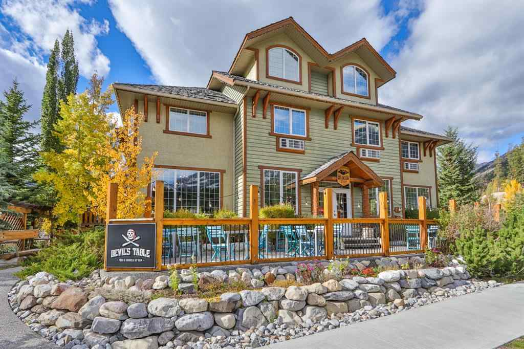 MLS® # A1054863 - 709/713 Benchlands Trail  in Benchlands Canmore, Commercial Open Houses