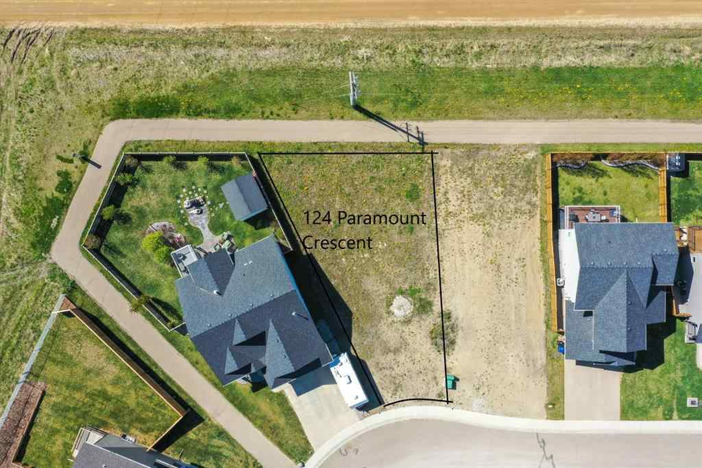 MLS® # A1056027 - 124  PARAMOUNT Crescent  in Panorama Estates Blackfalds, Land Open Houses