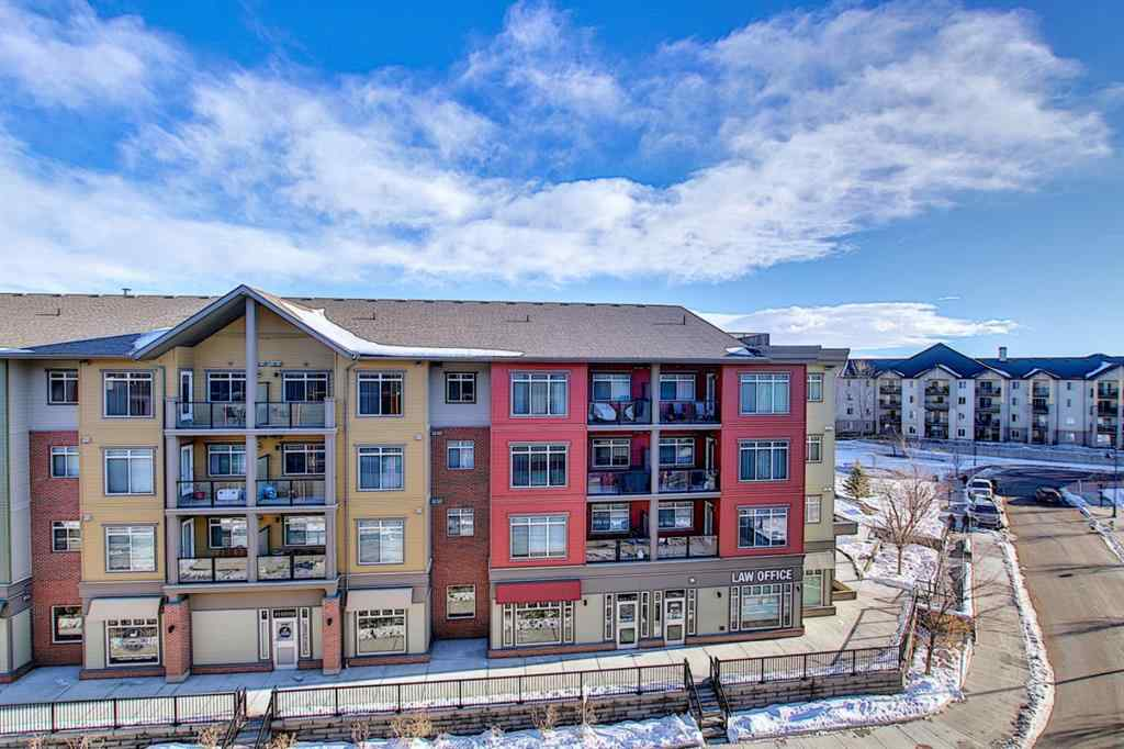 MLS® #A1056976 - Unit #1408 403 Mackenzie Way SW in Downtown Airdrie, Residential Open Houses