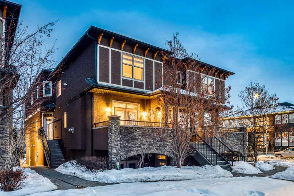 MLS® # A1057444 - Unit #Unit #1 1938 24A Street SW in Richmond Calgary, Residential Open Houses