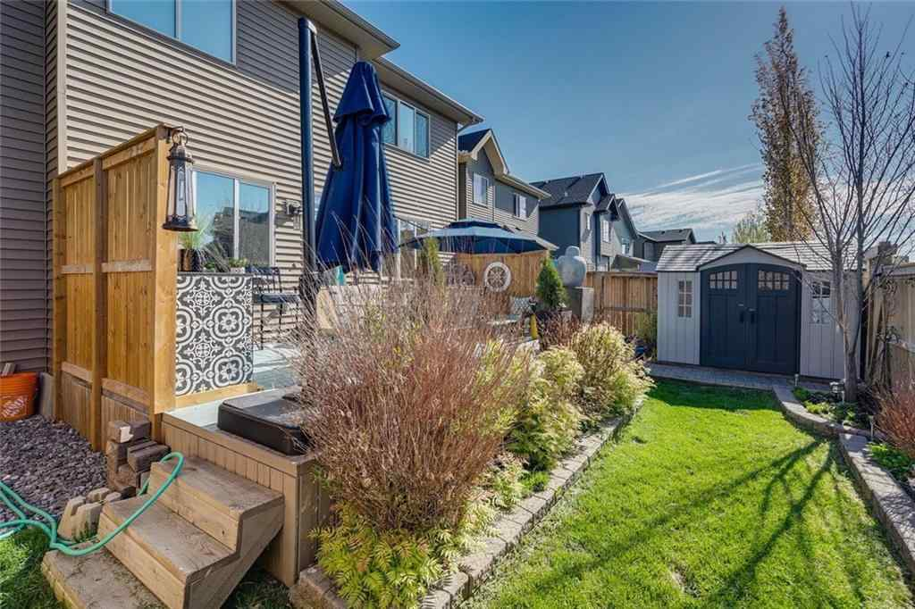 MLS® # A1057688 - 207 Cooperstown  Lane SW in Coopers Crossing Airdrie, Residential Open Houses