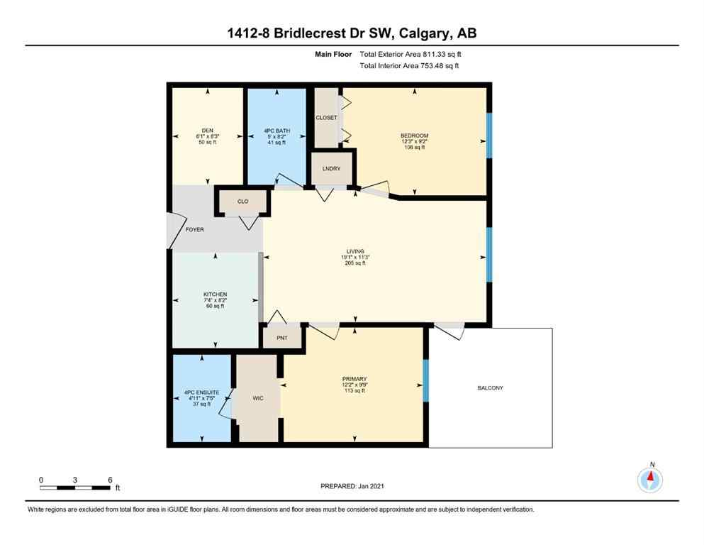 MLS® #A1058886 - Unit #1412 8 BRIDLECREST Drive SW in Bridlewood Calgary, Residential Open Houses