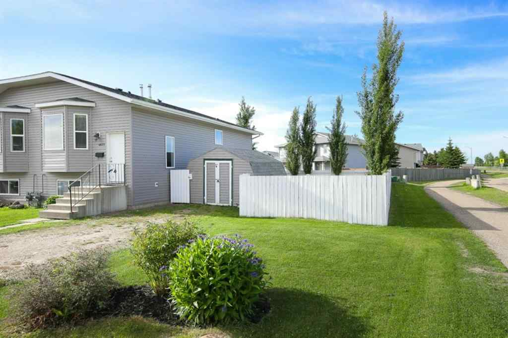 MLS® # A1059059 - 4627 Womacks Road  in Harvest Meadows Blackfalds, Residential Open Houses