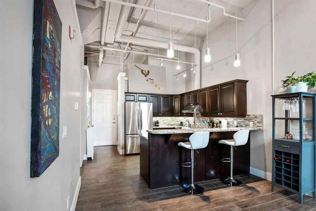 MLS® # A1059483 - Unit #103 220 11 Avenue SE in Beltline Calgary, Residential Open Houses