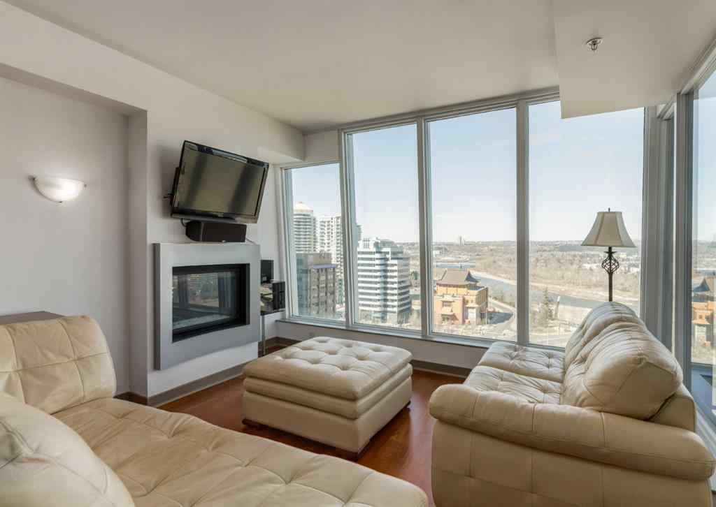 MLS® #A1059995 - Unit #1602 888 4 Avenue SW in Downtown Commercial Core Calgary, Residential Open Houses