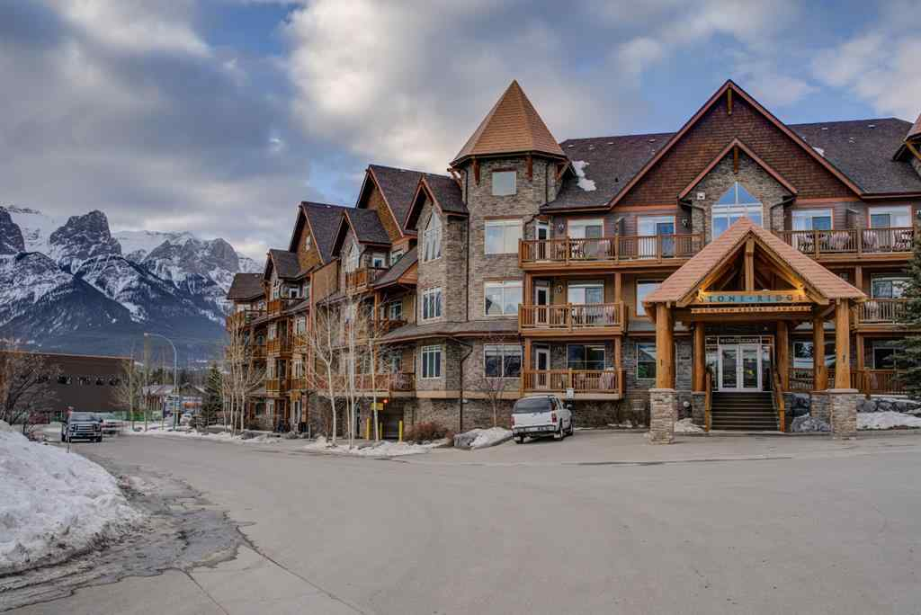 MLS® #A1064176 - Unit #107 30 Lincoln Park   in Bow Valley Trail Canmore, Residential Open Houses