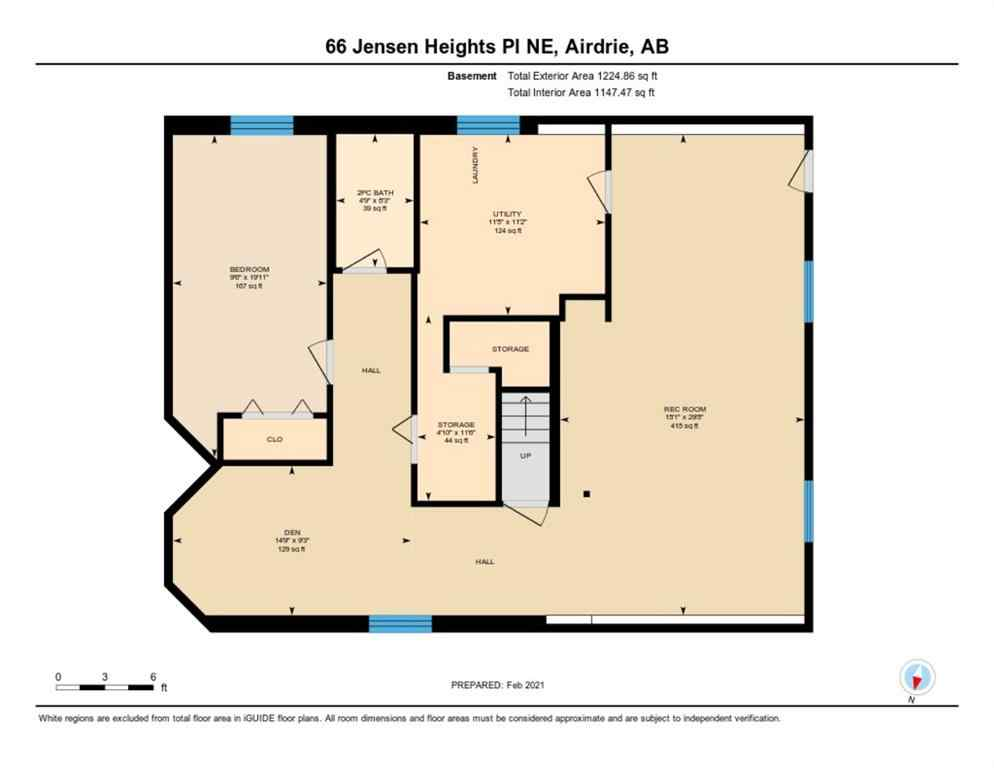 MLS® # A1065376 - 66 Jensen Heights Place NE in Jensen Airdrie, Residential Open Houses