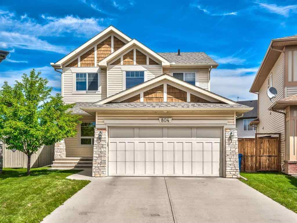 MLS® # A1066550 - 804 Coopers Square SW in Coopers Crossing Airdrie, Residential Open Houses
