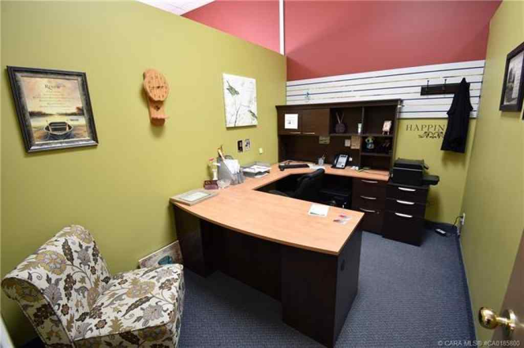 MLS® #A1066778 - 5212 51 Avenue  in Downtown Camrose Camrose, Commercial Open Houses