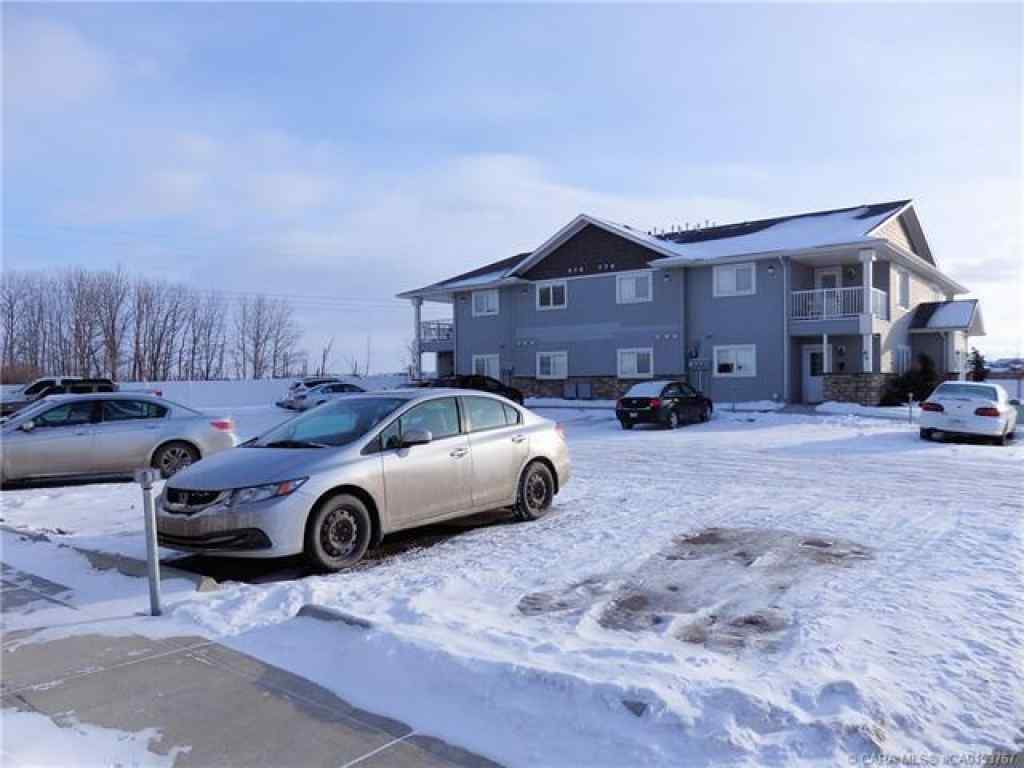 MLS® # A1066989 - Unit #B4 99 Pioneer Way  in Cottonwood Estates Blackfalds, Residential Open Houses