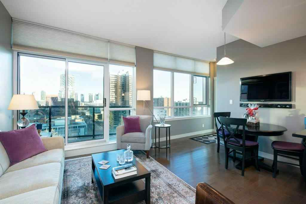 MLS® #A1067338 - Unit #1201 788 12 Avenue SW in Beltline Calgary, Residential Open Houses