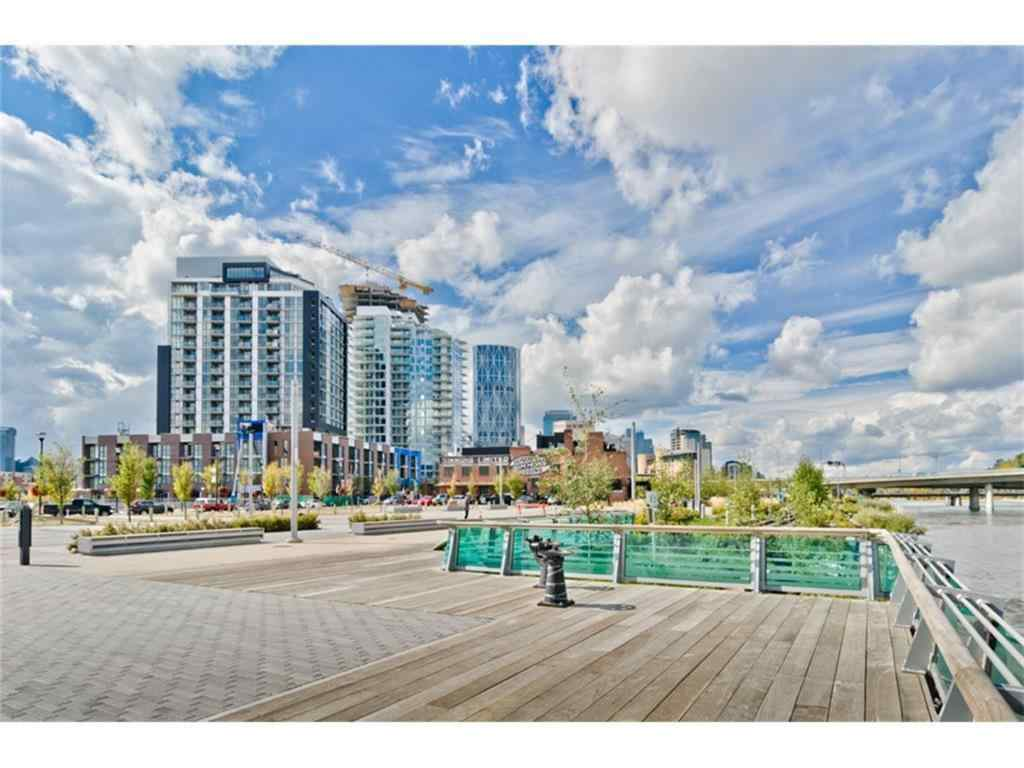 MLS® #A1068859 - Unit #801 550 Riverfront Avenue SE in Downtown East Village Calgary, Residential Open Houses
