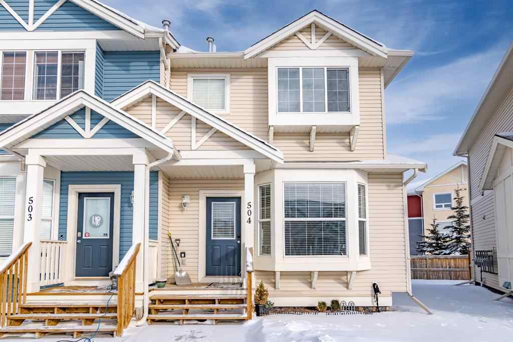 MLS® #A1069925 - Unit #504 703 Luxstone Square SW in Luxstone Airdrie, Residential Open Houses